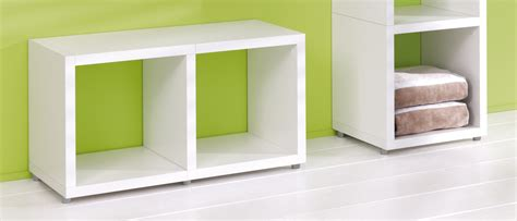 Uk Shelf Company by White Single Cube Kit 384l X 404h X 328d Mastershelf