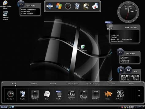 black xp themes download download free software full version windows xp black