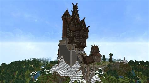 medieval house skyrim inspiration timelapse download minecraft project ravenhold skyrim inspired project minecraft building inc
