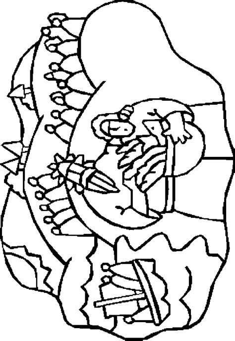 free coloring pages of jesus fish and loaves