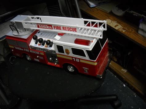 tonka mighty motorized fire truck customer images