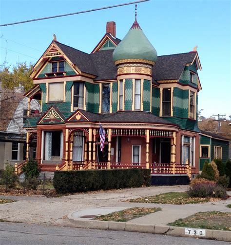 old homes 25th st ogden washington blvd historic victorian