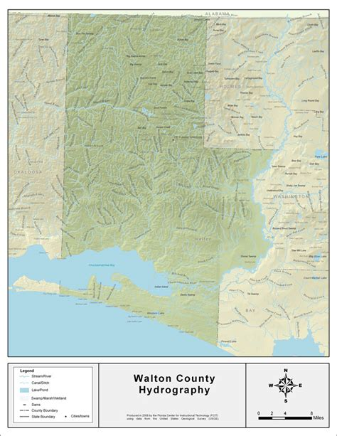 Walton County Florida Records Florida Waterways Walton County 2008