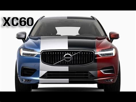 volvo xc  color options youtube