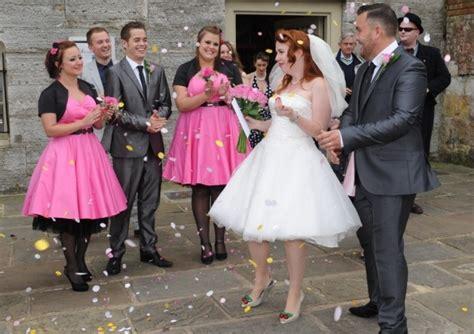 1950s themed wedding becky s wedding