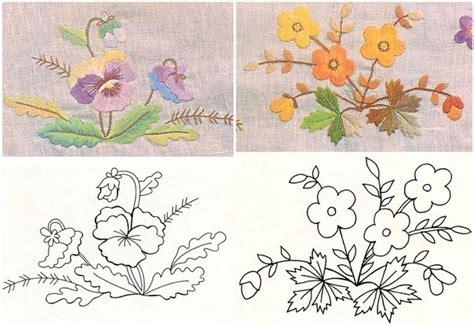 imagenes de flores para bordar a mano patron bordado a mano imagui