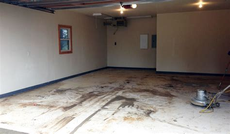 How To Prep A Garage Floor For Epoxy by Diy Epoxy Garage Floor Tutorial How To Make Your Garage