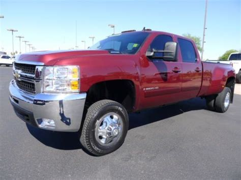 2008 chevrolet silverado 3500 for sale used cars for sale purchase used 2008 chevrolet 3500 hd chevy crew cab dually lt 4x4 used diesel truck low miles