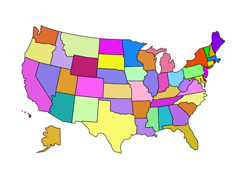 map us states r usa map gallery