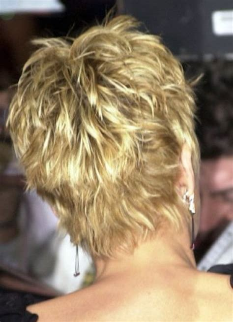 hairstyles showing the back of sharon stone short hair google search hair pinterest