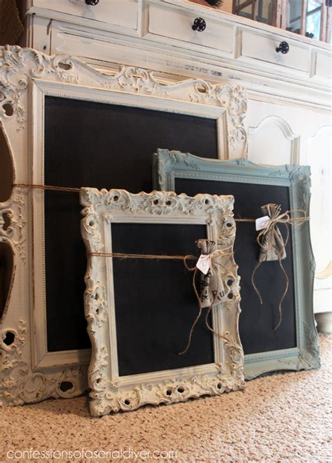 chalk paint projects fancy chalkboards confessions of a serial do it yourselfer