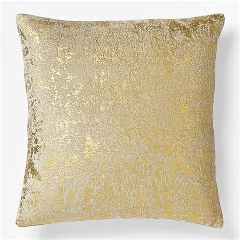 gold throw pillow west elm weddings and homes