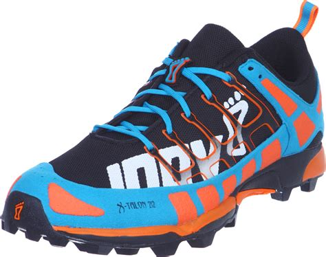 blue and orange running shoes inov 8 x talon 212 precision fit trail running shoes black