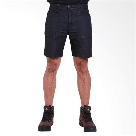 jual eiger traverse 1 2 celana pendek pria black