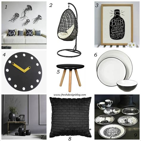 home interior accessories black and white delight monochrome home accessories