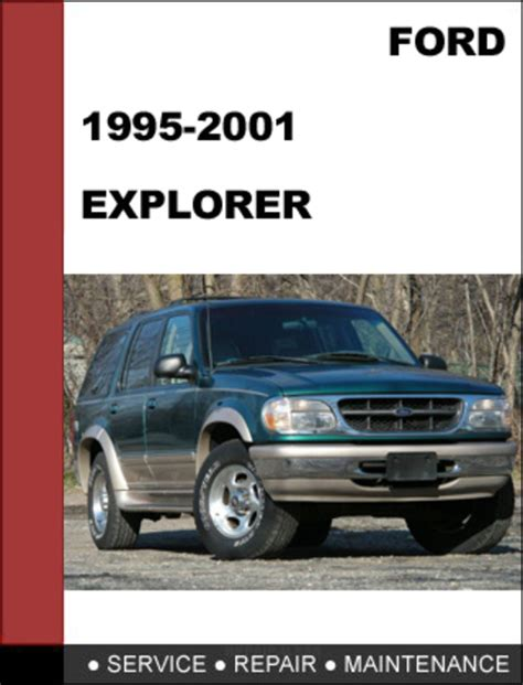 free online auto service manuals 2007 ford explorer sport trac parental controls ford explorer 1995 to 2001 factory workshop service repair manual