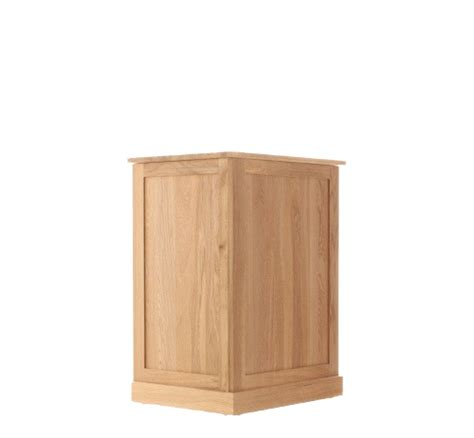 oak laundry mobel oak laundry bin
