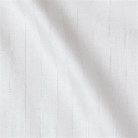 Best White Fabric For Quilting by 118 Sateen Stripe White Discount Designer Fabric