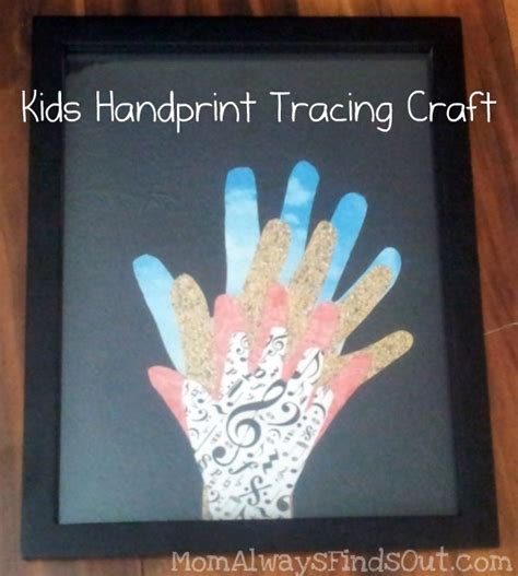 kid crafts for gifts handprint craft ideas for s day s
