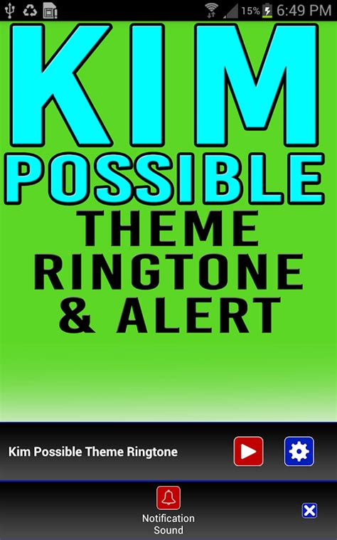 themes and ringtone kim possible ringtone alert android apps on google play