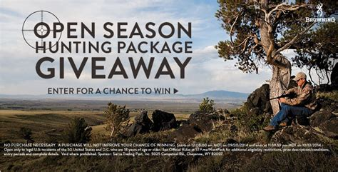 Hunting Contest Giveaways - sierra trading post love the deals live the adventure