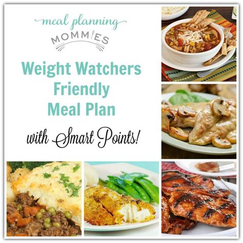 printable meal recipes meal planning mommies weight watcher meal plan with ww