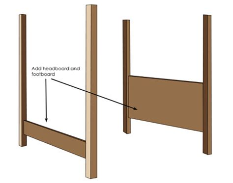 diy four poster bed home dzine home diy how to make a diy 4 poster bed
