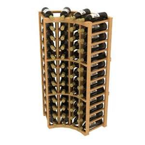 Corner Cabinet Wine Rack Ironwine Cellars Cc9 Stackables Curve Corner Wine Rack