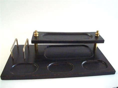 Men S Valet Desk Organizer Mens Desk Organizer