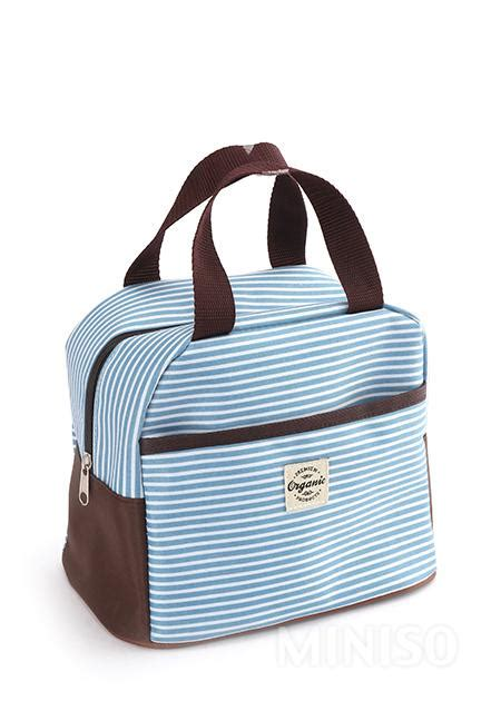 Lunch Box Blue lunch box bag blue miniso australia
