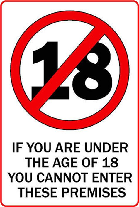 Stiker 0 3 Age Warning Sign 215x145mm approx 18 only oblong sticker printed