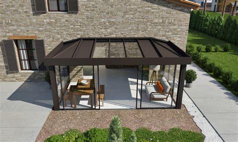 aluminium veranda veranda alu technal