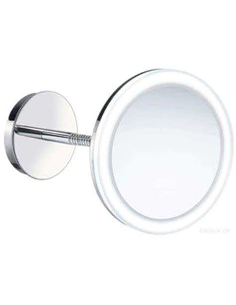smedbo outline swing arm shaving and make up mirror round hib libra led illuminated magnifying mirror 21400