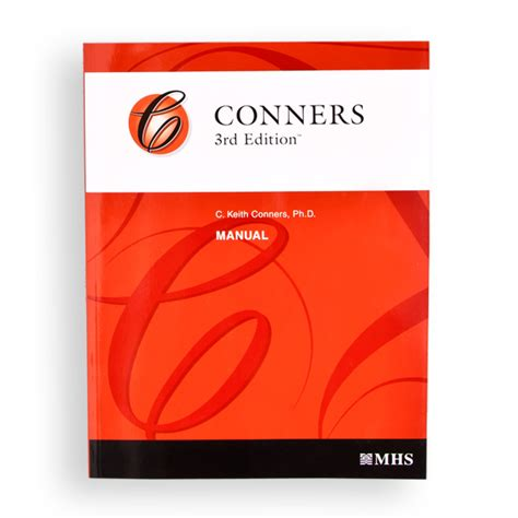 Conners 3 Report Template Conners 3 Products
