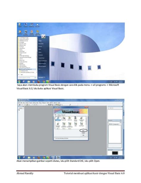 tutorial visual basic 6 0 membuat program tutorial membuat aplikasi kasir dengan vb 6 0