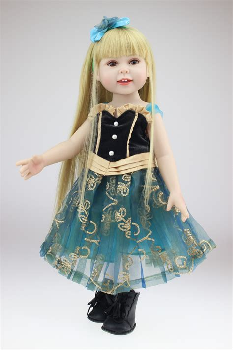 design doll clothes toy aliexpress com buy fashion full vinyl 18 inch girl doll