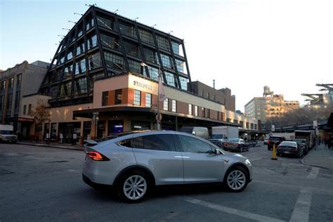 Tesla In New York Tesla S Push Beyond Cars Is Now On Display In This New