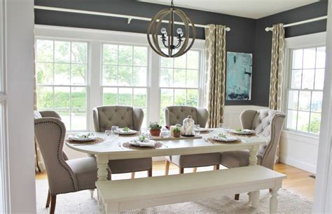 modern farmhouse dining room summer tour dining room reveal city farmhouse