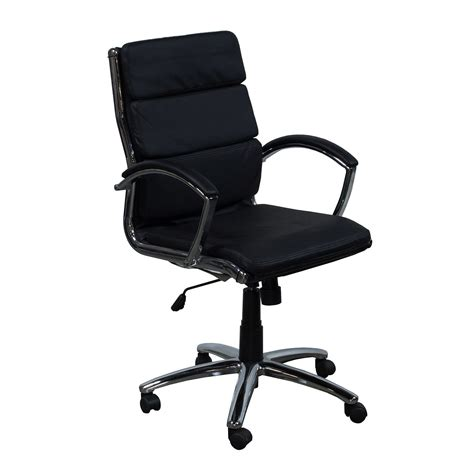 Used Leather Chairs by Used Leather Conference Chair Black National Office