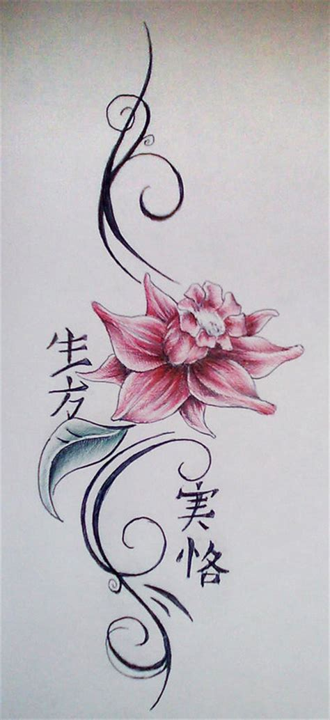 water lily tattoo designs ink flower by steven brandon