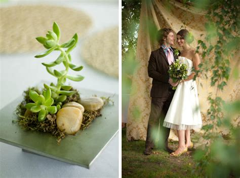 Planning An Environment Friendly Wedding by An Eco Friendly Garden Wedding Once Wed