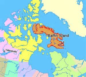 map of islands canada file map indicating baffin island nunavut canada png