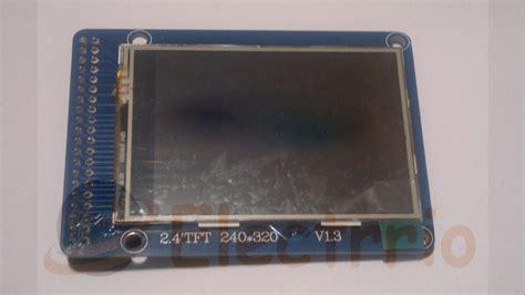 Lcd 2 4 Tft 240x320 el0438 pantalla 2 4 quot tft lcd 240x320