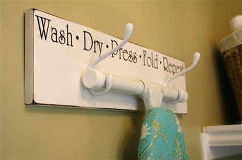 Diy Laundry Room Decor Suporte Para T 225 Bua De Passar Roupa Passo A Passo