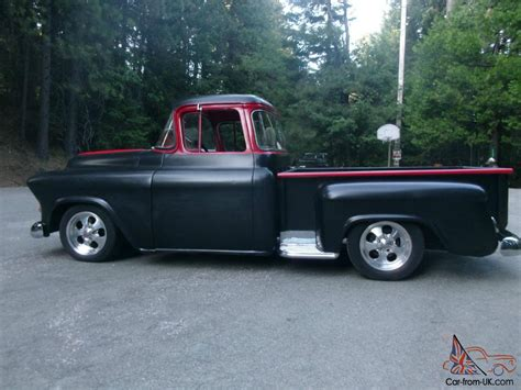1957 chevy stepside pick up 1959 gmc 1957 chevy bigwindow stepside shortbed ca