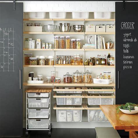 white birch elfa decor reach  pantry  container store