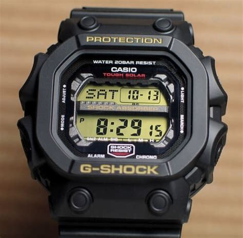 G Shock Gx56 Army casio gx56 1b g shock solar powered sport
