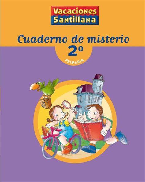 libro cuaderno de vacaciones repaso 2pri vacaciones santillana 2 primaria repaso lengua matemticas conocimiento del medio