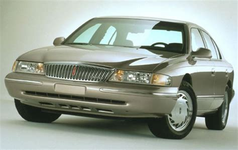 1996 lincoln continental 1996 lincoln continental information and photos