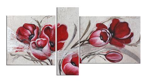 dipinti di fiori moderni quadro fiori cod 81 vendita quadri astratti quadri